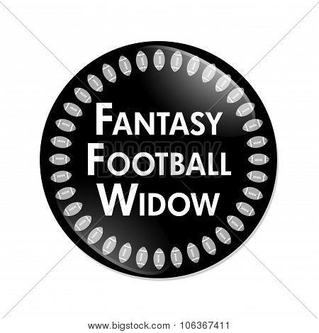 Fantasy Football Widow Button