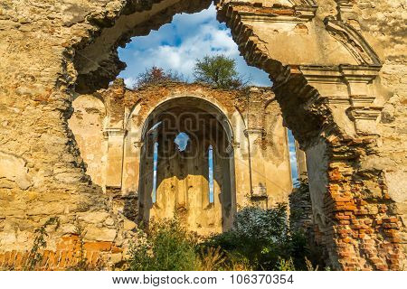 The Ruins Of The Temple, Medzhibozh, Ukraine
