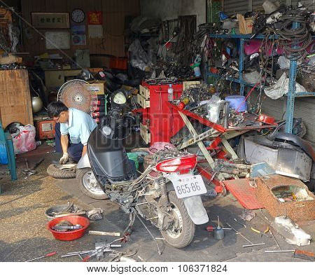 Local Scooter Repair Shop
