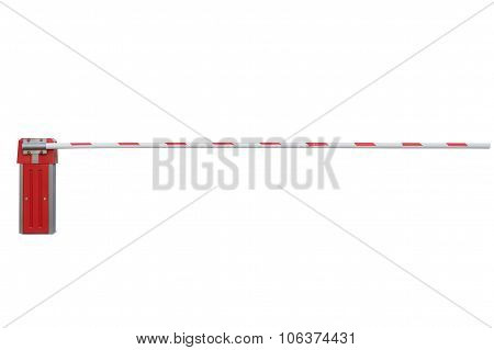 barrier isolated on white background
