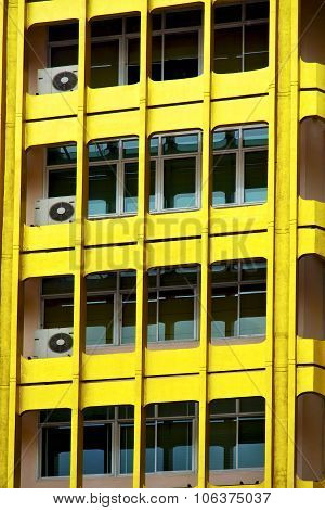 Bangkok Terrace  Thailand  Office    Yellow Palaces    Fan
