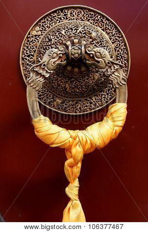 Traditional Tibetan Door Knob