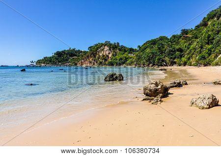 Gamboia Beach In Morro De Sao Paulo, Brazil