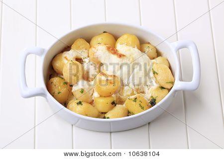 Potatoes And Cream
