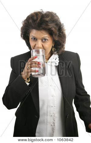 Indian Woman - Drinking Water
