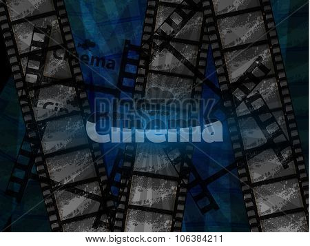 illustration background cinema