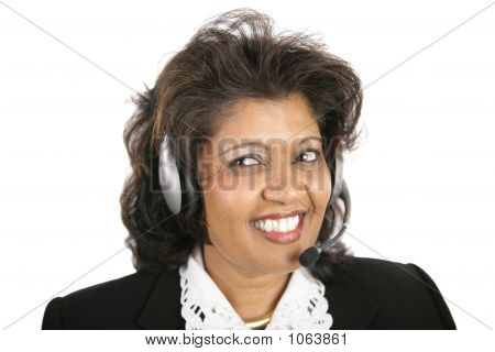 Indian Woman - Headset