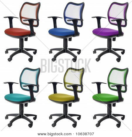 Office Chairs | Isolated