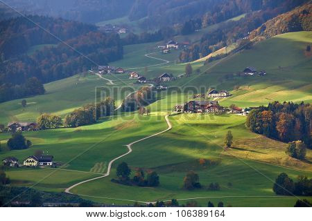 October in Austria. Goog autumn day