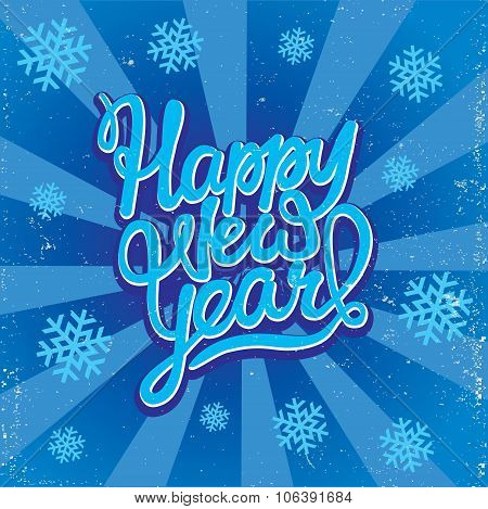 Happy New Year Caligraphy
