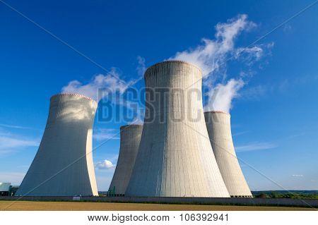 Nuclear power plant Dukovany in Czech Republic Europe
