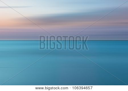 An Abstract Ocean Seascape