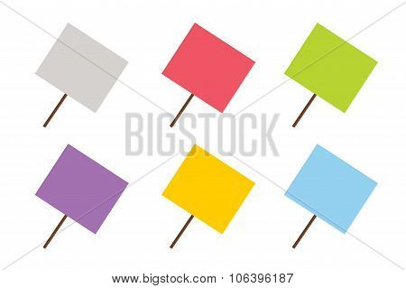 Sale, Off vector board banners
