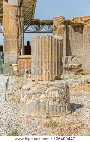 Persepolis Apadana Palace Column Base