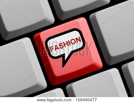Computer Keyboard - Fashion