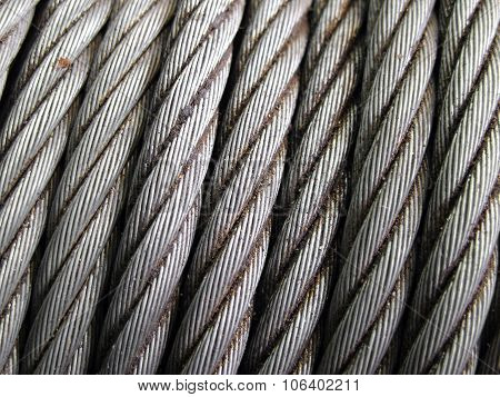 Rusty Cable Sling