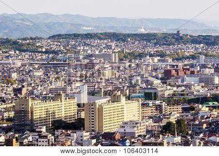 Cityscape Of Kyoto, Japan