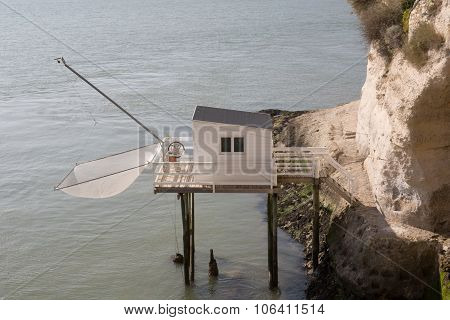 Fishing House On The French Coast