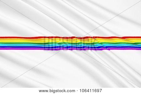 Flag Of Jewish Autonomous Region, Russian Federation