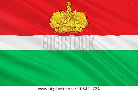 Flag Of Kaluga Oblast, Russian Federation