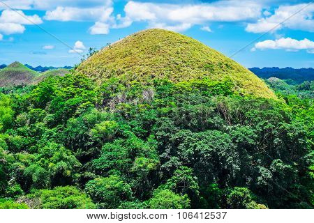 Famous Chocolate Hills Natural Landmark