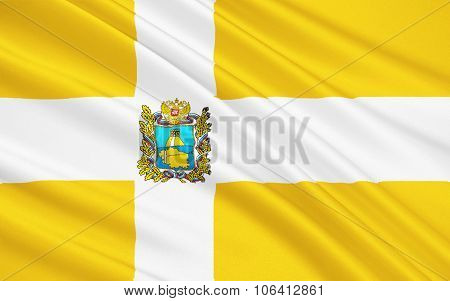 Flag Of Stavropol Region, Russian Federation