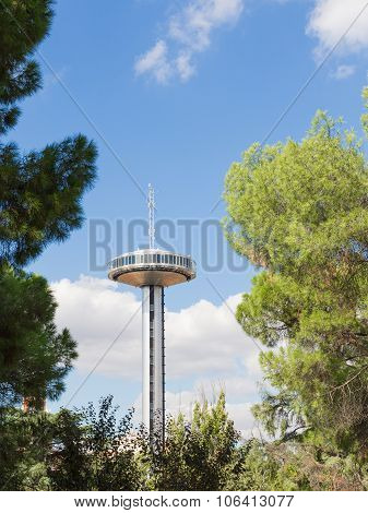 Beautiful Unusual Tower Moncloa