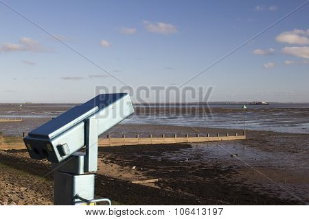 Telescope At Southend-on-sea, Essex, England