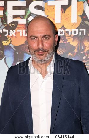 LOS ANGELES - OCT 28:  Lior Raz at the 29th Israel Film Festival - Opening Night Gala at the Saban Theatre on October 28, 2015 in Beverly Hills, CA