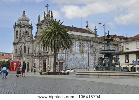 Carmo Church In Porto