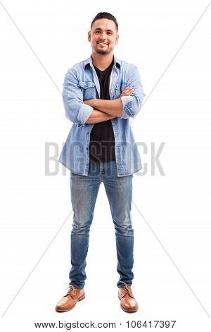 Young Man With Arms Crossed