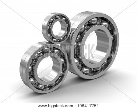 Bearing (clipping path included)