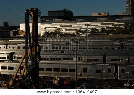 MTA's Rail Yard