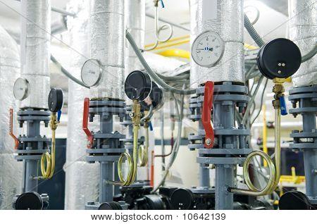 Gas Boiler Room Equipment