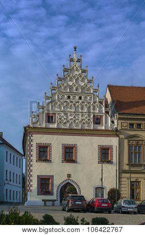 Historic Houses, Tabor, Czech Republic