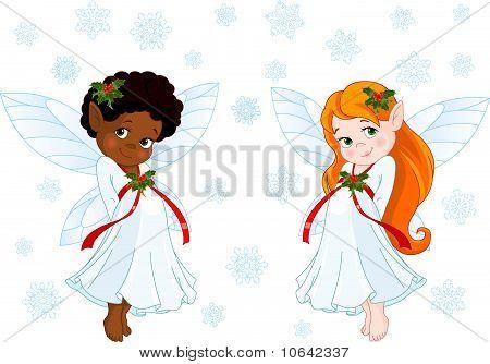 Little Christmas Fairies