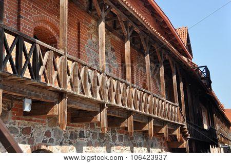Wooden Deck Terrace