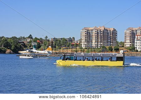 Amphibious Bus and Seaplane