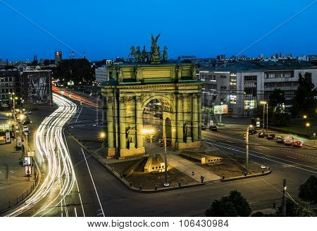 Narva Triumphal Arch On The