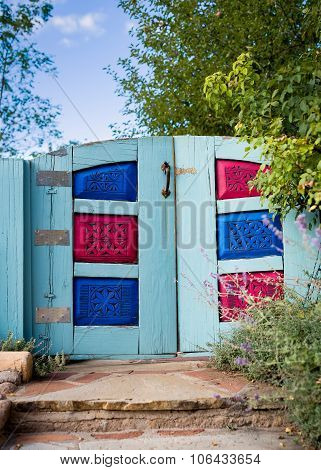 Colorful Santa Fe Gate