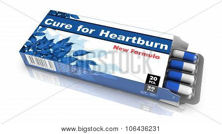 Cure for Heartburn - Blister Pack Tablets.