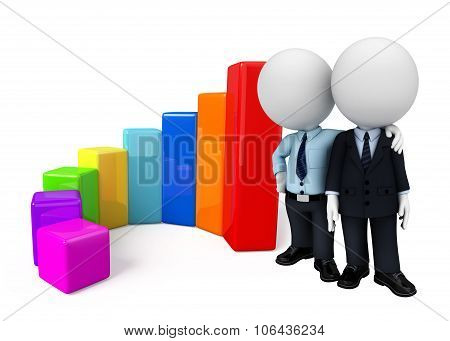 Business Team With Business Graph