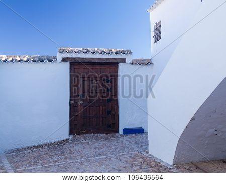 Cave House At Campo De Criptana La Mancha, Spain