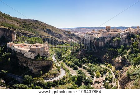 Cuenca In Castilla-la Mancha, Spain