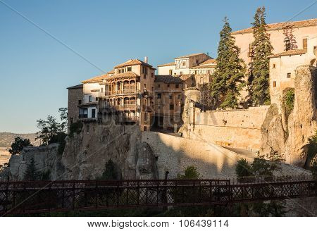 Overview Of Cuenca In Castilla-la Mancha, Spain