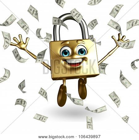Lock Character With Dollars