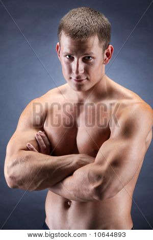 Handsome Bodybuiler