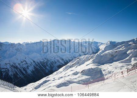 Mountains Of Otztal Alps