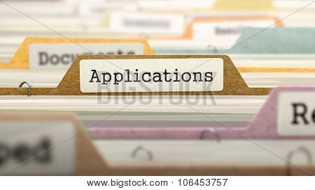 Applications - Folder Name in Directory.