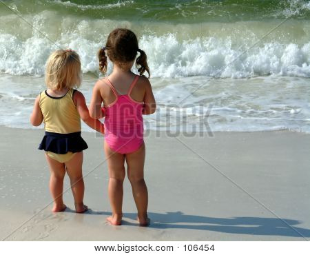 Little Bums On The Beach